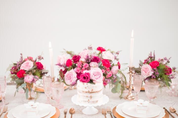 inexpensive wedding cake ideas