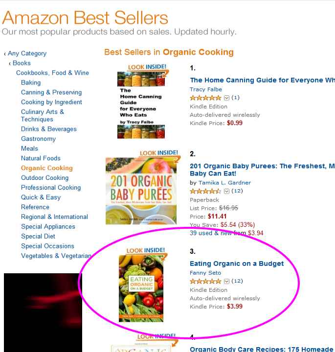 Amazon Best Sellers best Organic Cooking Paid