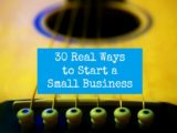 30 real ways to start a small business
