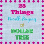 25 Things Worth Buying at Dollar Tree