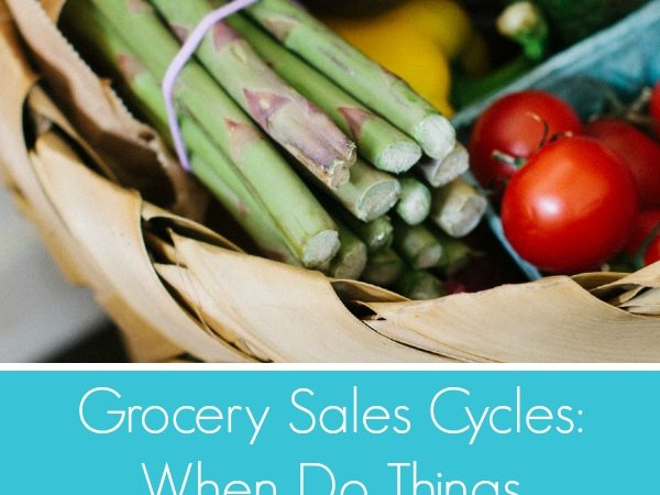 Grocery Sales Cycles: When Do Things Go on Sale?