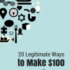 20 ways to make 100 in a day