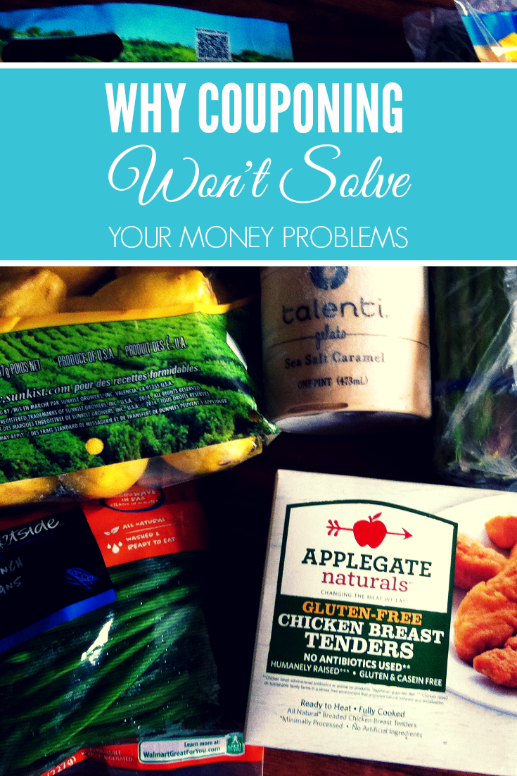 Why Couponing Won't Solve Your Money Problems