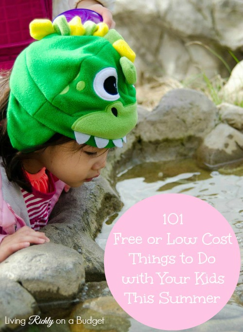 101 free things to do with your kids this summer