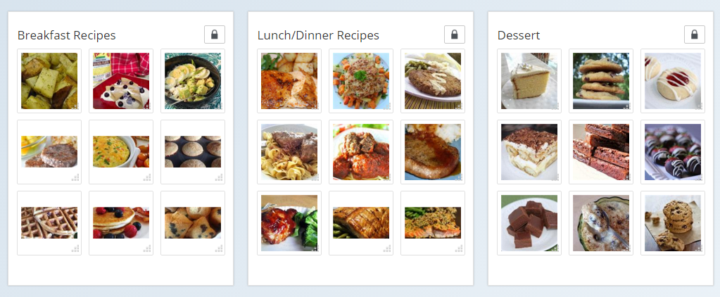 Meal Plan with Clipix