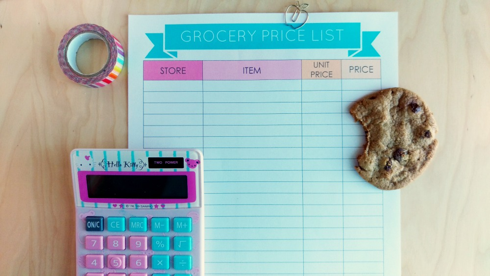grocery-price-list-calculator
