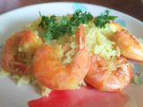 5 minute shrimp scampi paella instant pot
