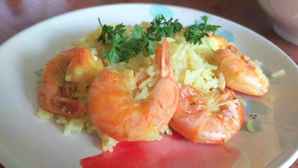 shrimp-scampi-paella