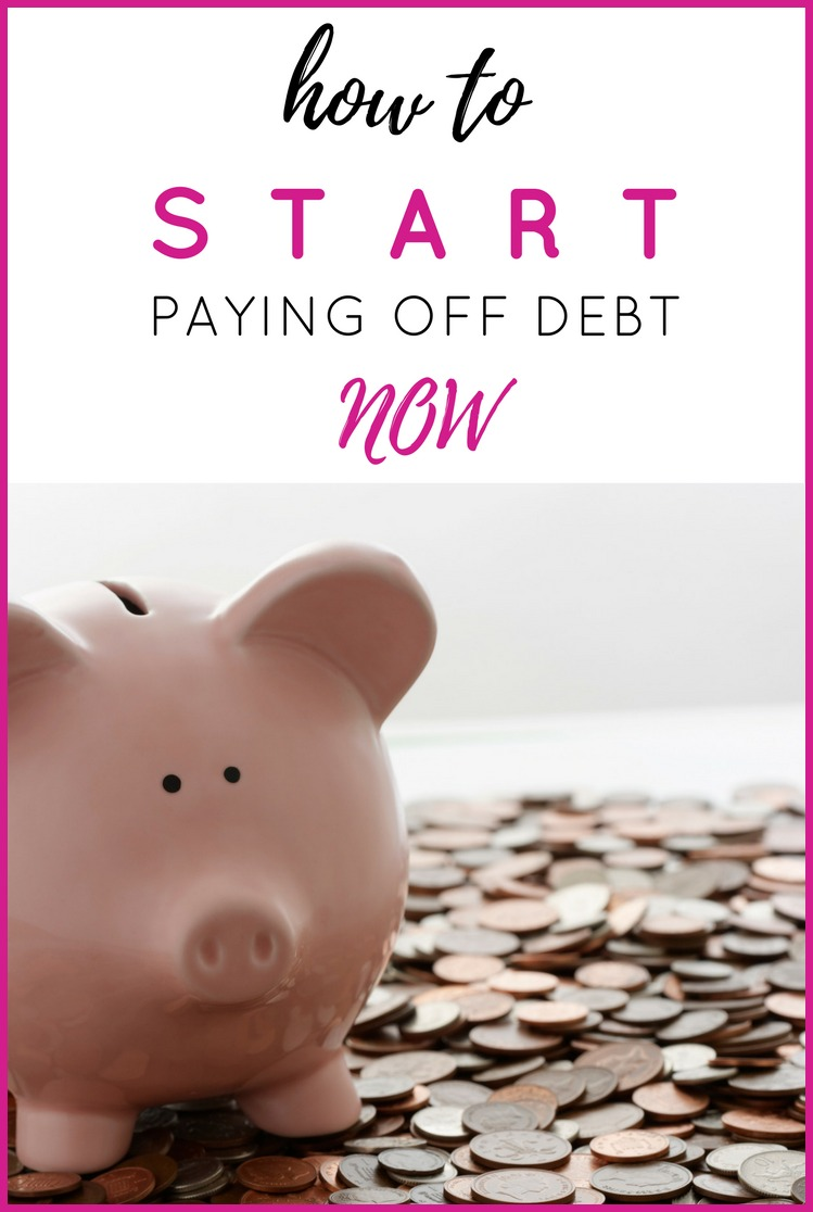 How to Start Paying Off Debt Now