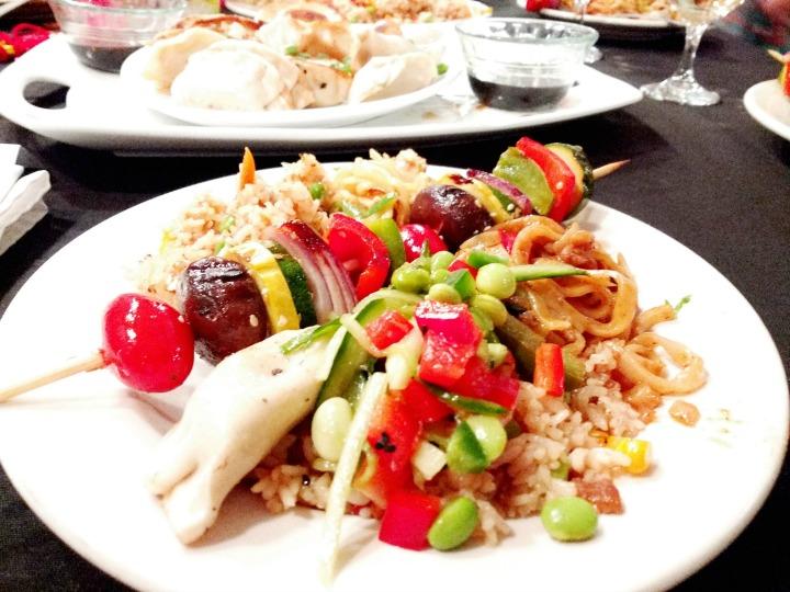 Ling Ling dinner