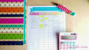 How do you find the lowest price for your groceries? Use a grocery price book. Find out how.
