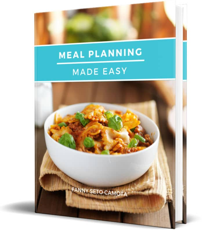 Meal Planning 3d Sales Page