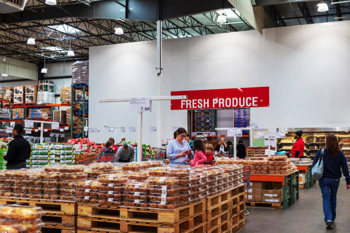 costco produce