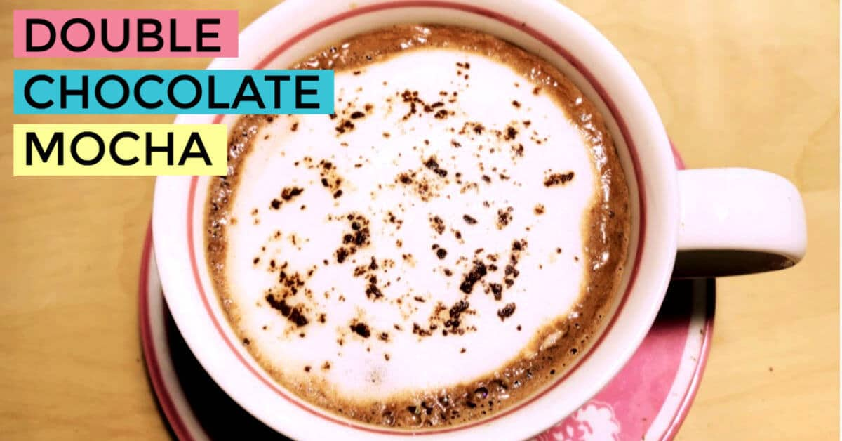 Make Mocha at Home without Machine