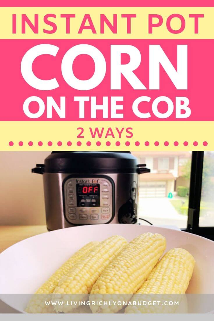 Instant Pot Corn Milk