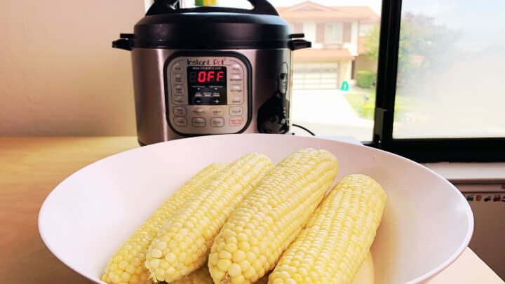 Instant Pot Corn milk butter