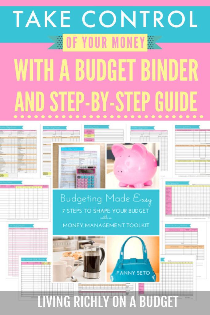 diy budget binder