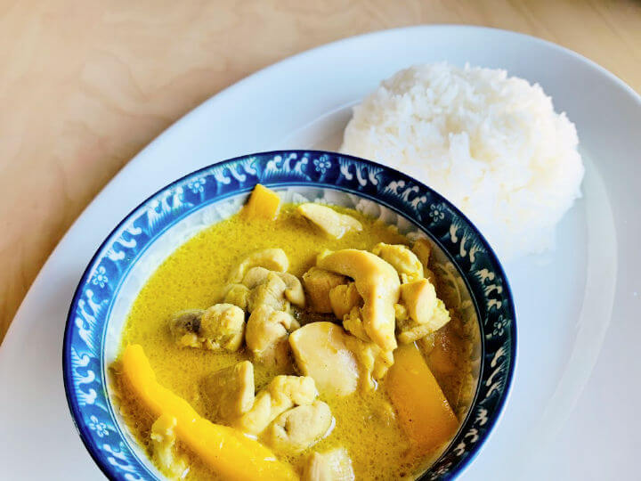 Instant Pot Thai Curry Chicken