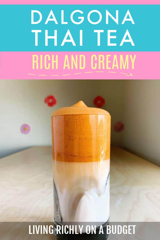 Dalgona Thai Tea Recipe-Image