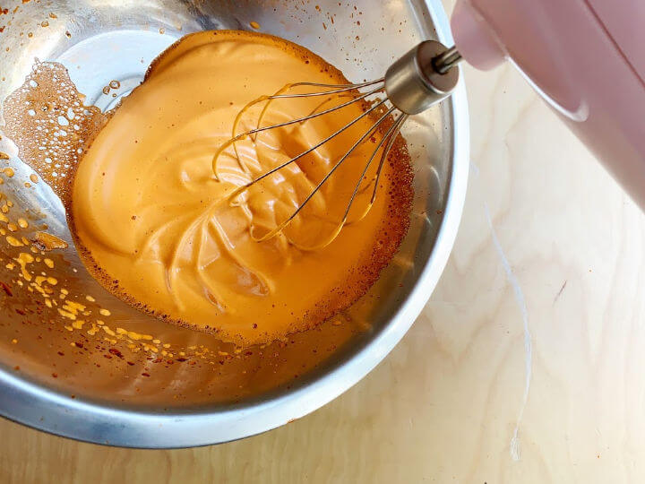 whipped thai tea hand mixer