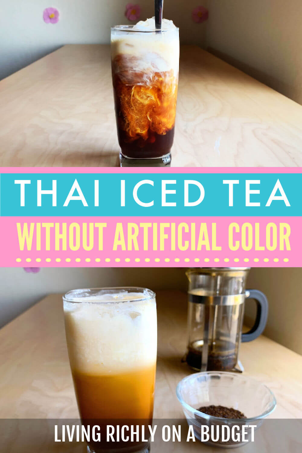 Thai Iced Tea No Dye