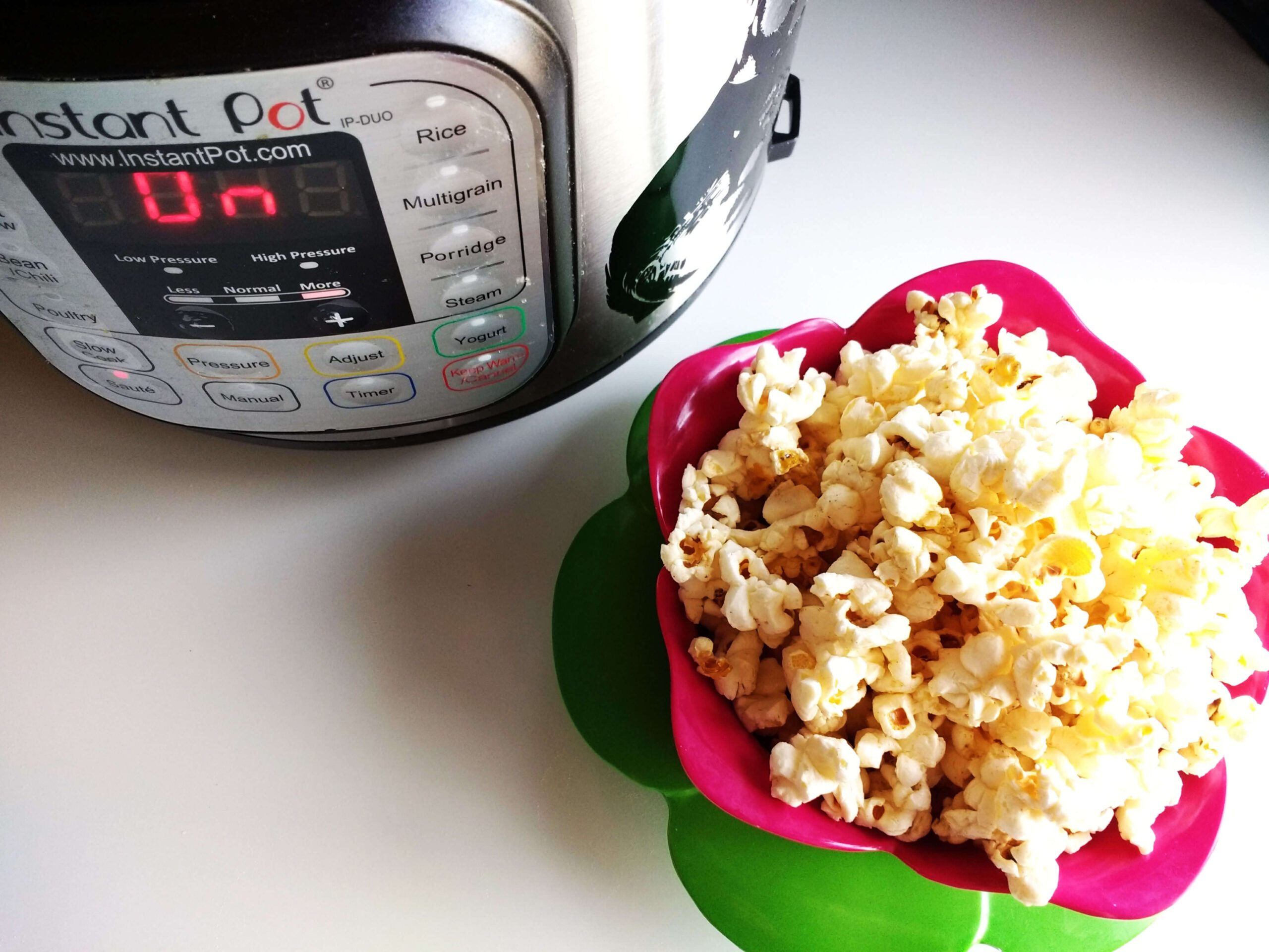 pressure cooker popcorn recipe