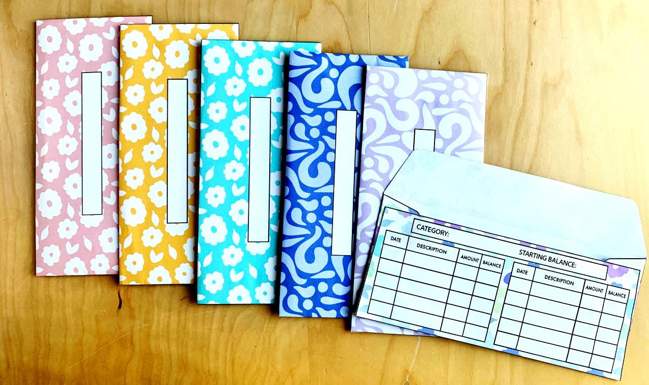 cute printable cash envelopes