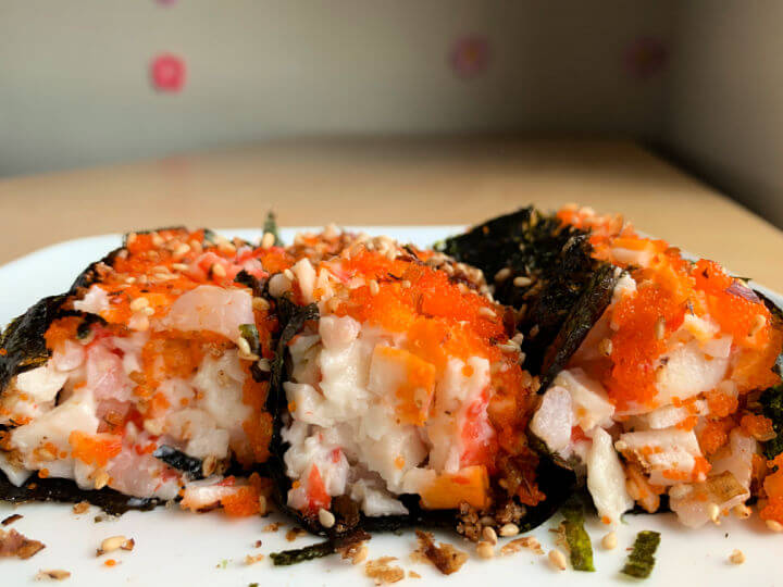 Sushi Bake or Baked Sushi Casserole