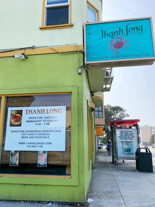 Thanh Long Restaurant San Francisco