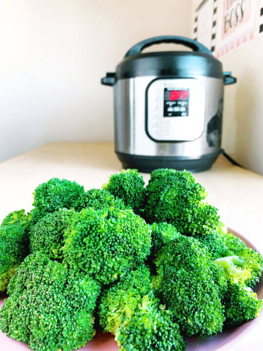 instant pot broccoli recipe