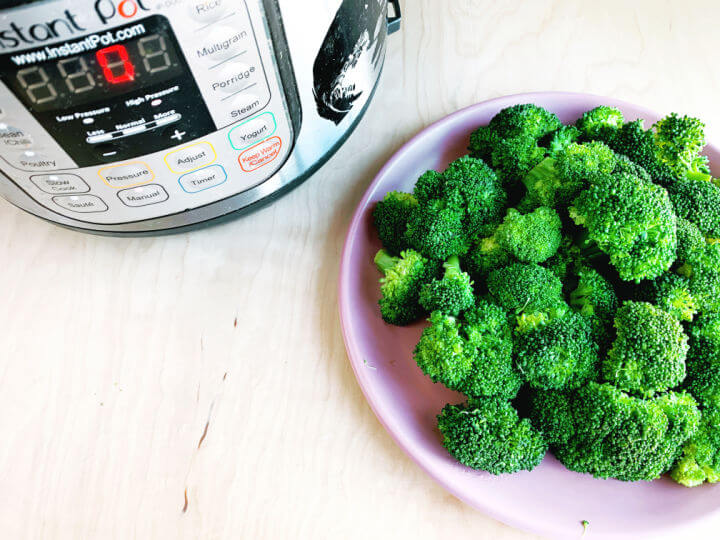 instant pot steamed broccoli