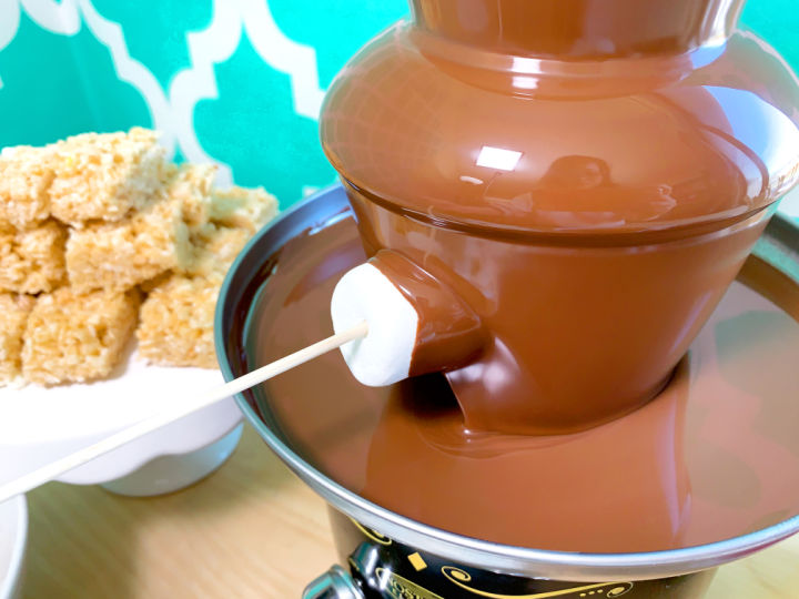 chocolate fountain dipping ideas